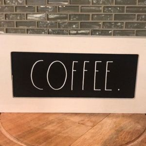 COFFEE Rae Dunn Sign